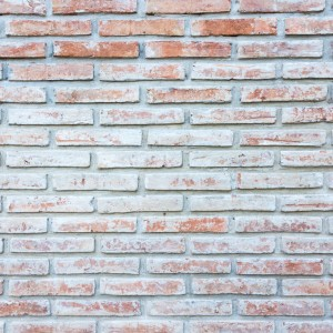 Old orange brick wall texture